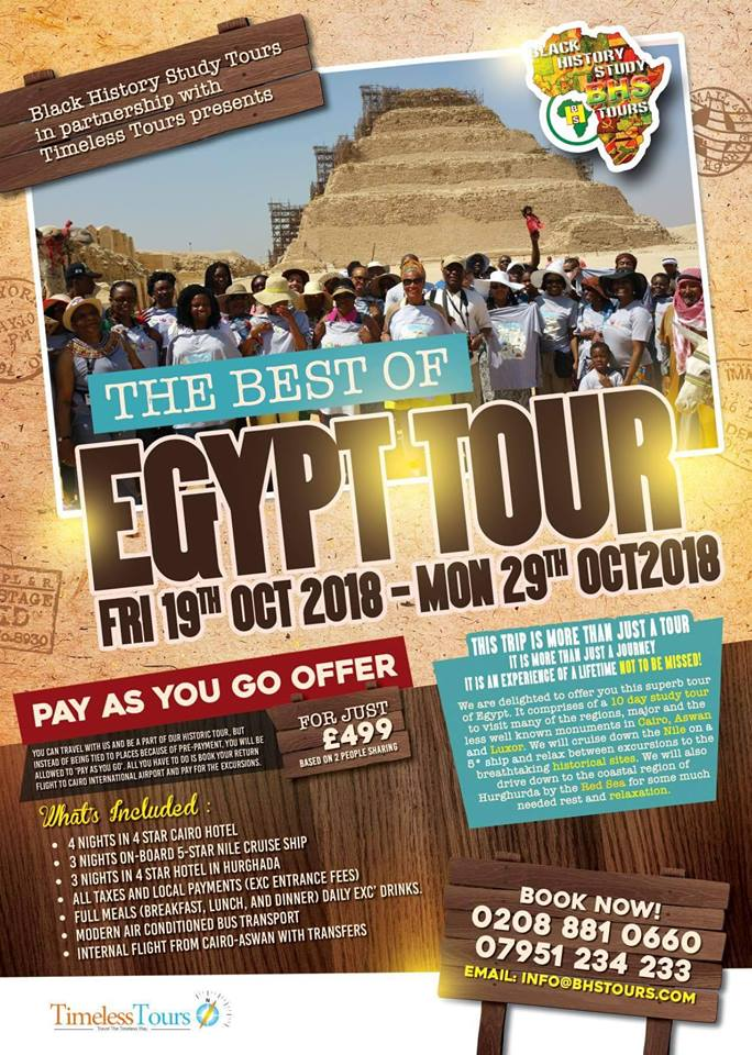 The Best of Egypt Tour – October