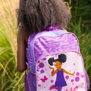 Lela Purple Large Backpack