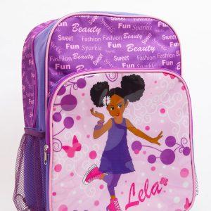Lela Purple Large Backpack