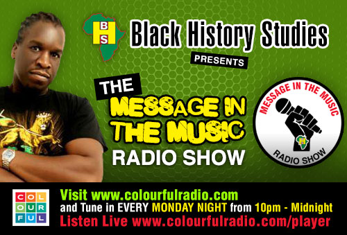 The message in the music radio show