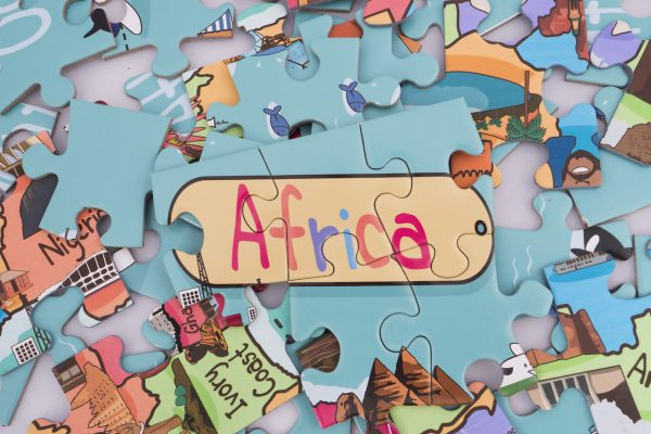 Africa Map Giant Jigsaw Puzzle 4