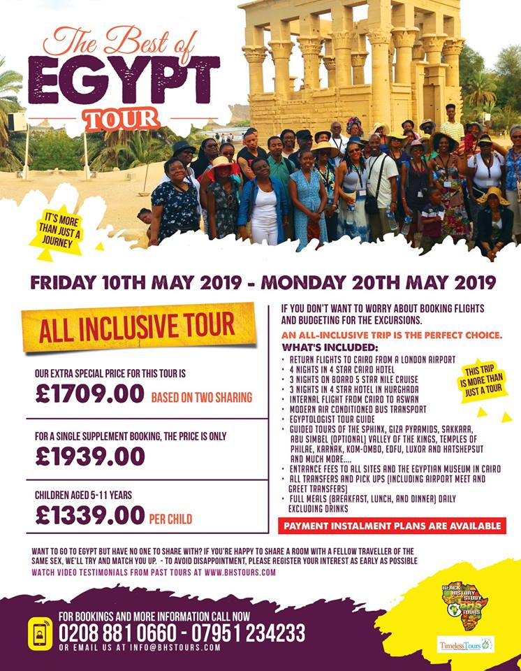 Best of Egypt Tour – May 2019
