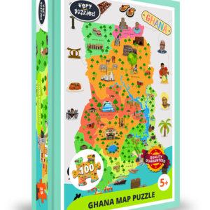 Ghana Map Jigsaw Puzzle