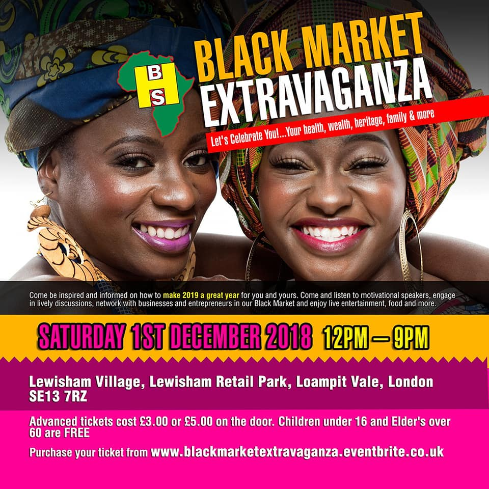 Black Market Extravaganza – Saturday 1st December 2018