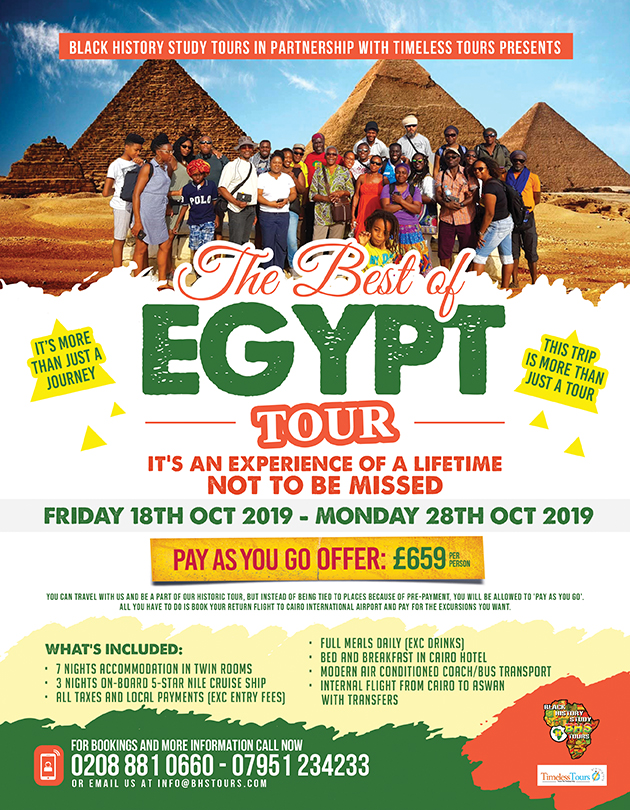 The Best of Egypt Tour – October 2019