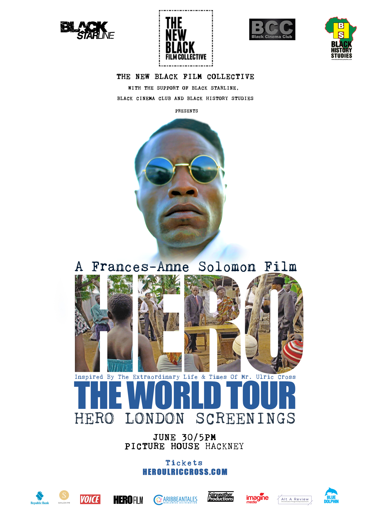 'HERO'  Inspired by the Extraordinary Life and Times of Mr. Ulric Cross