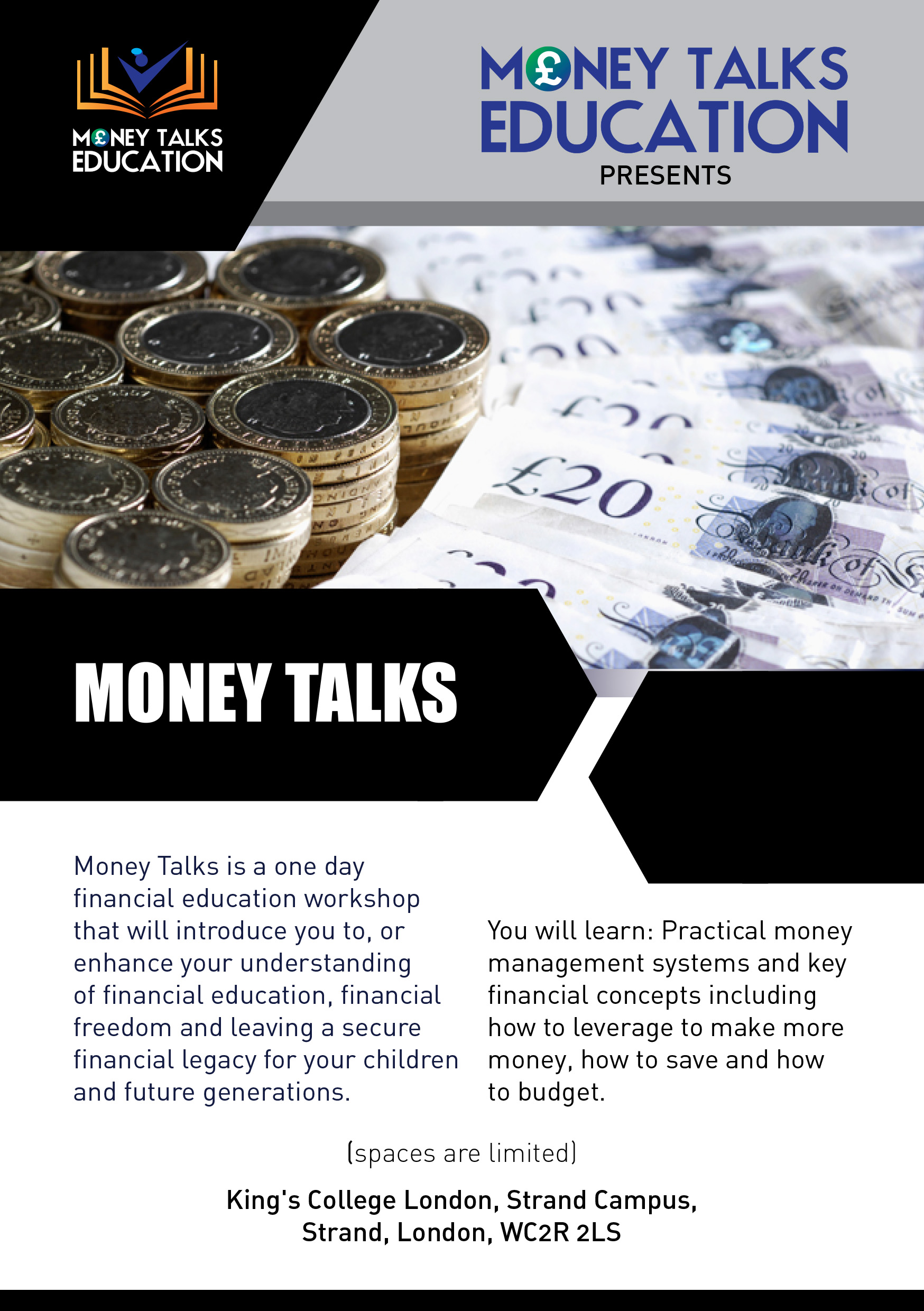 Money Talks Financial Education Workshop