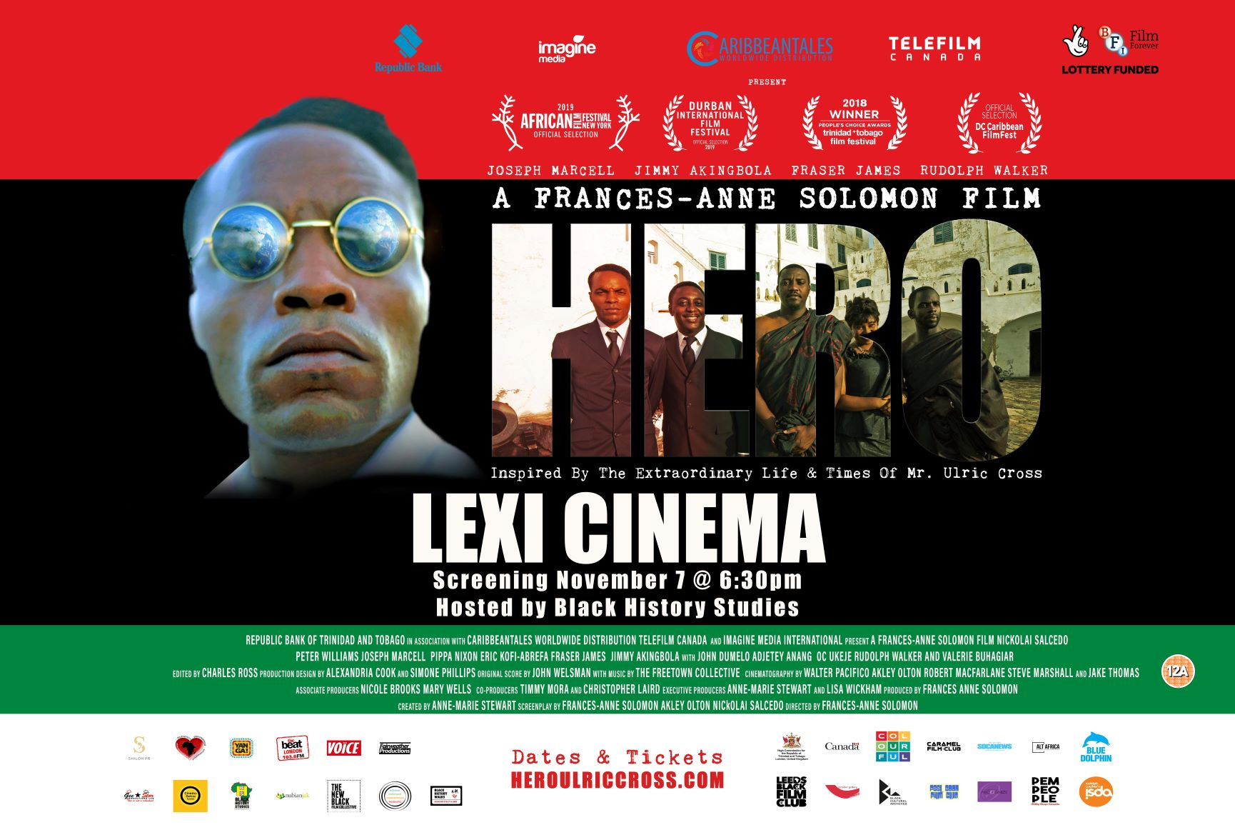Special BHM Screening of HERO – Inspired by the Extraordinary Life and Times of Ulric Cross