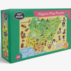 Nigeria Map Jigsaw Puzzle Map Jigsaw Puzzle