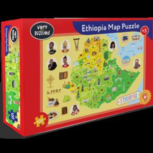 Ethiopia Map Jigsaw Puzzle