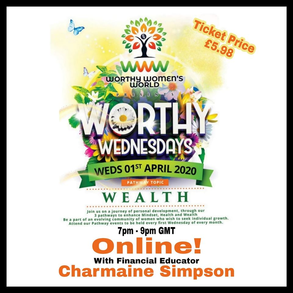 [WEBINAR]: Worthy Women Wednesday' session on 'Women & Wealth'