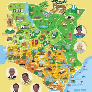 Kenya Map Jigsaw Puzzle