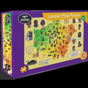 London Map Jigsaw Puzzle