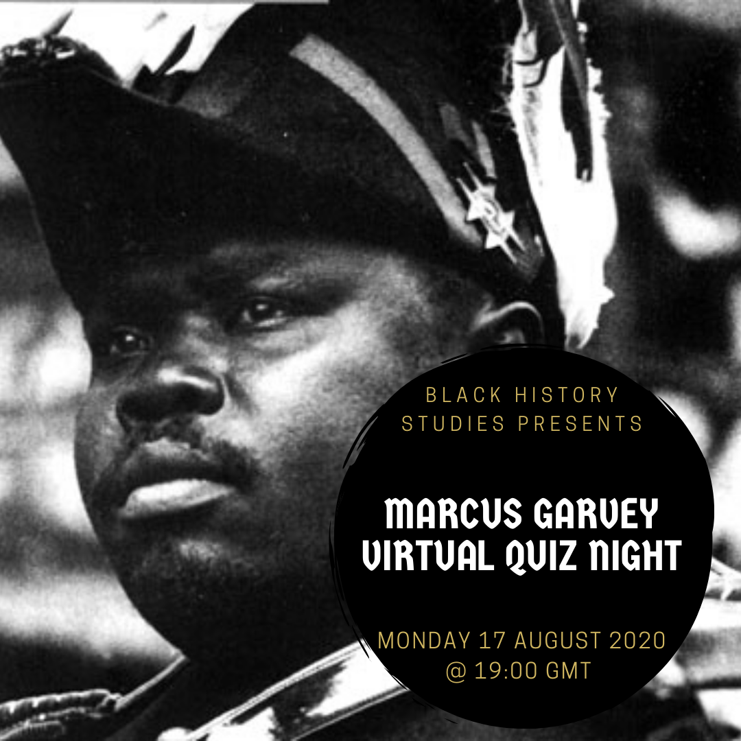 FREE Marcus Garvey Quiz Night