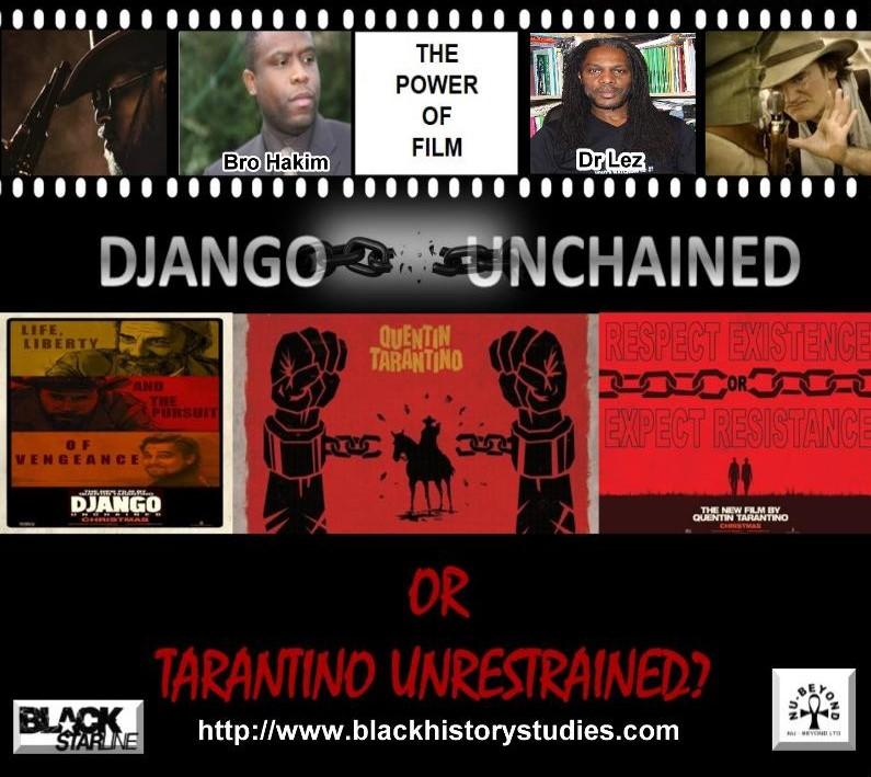 WEBINAR: Django Unchained Or Tarantino  Unrestrained? (Over 16s)