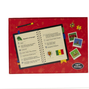 Senegal Map Jigsaw Puzzle