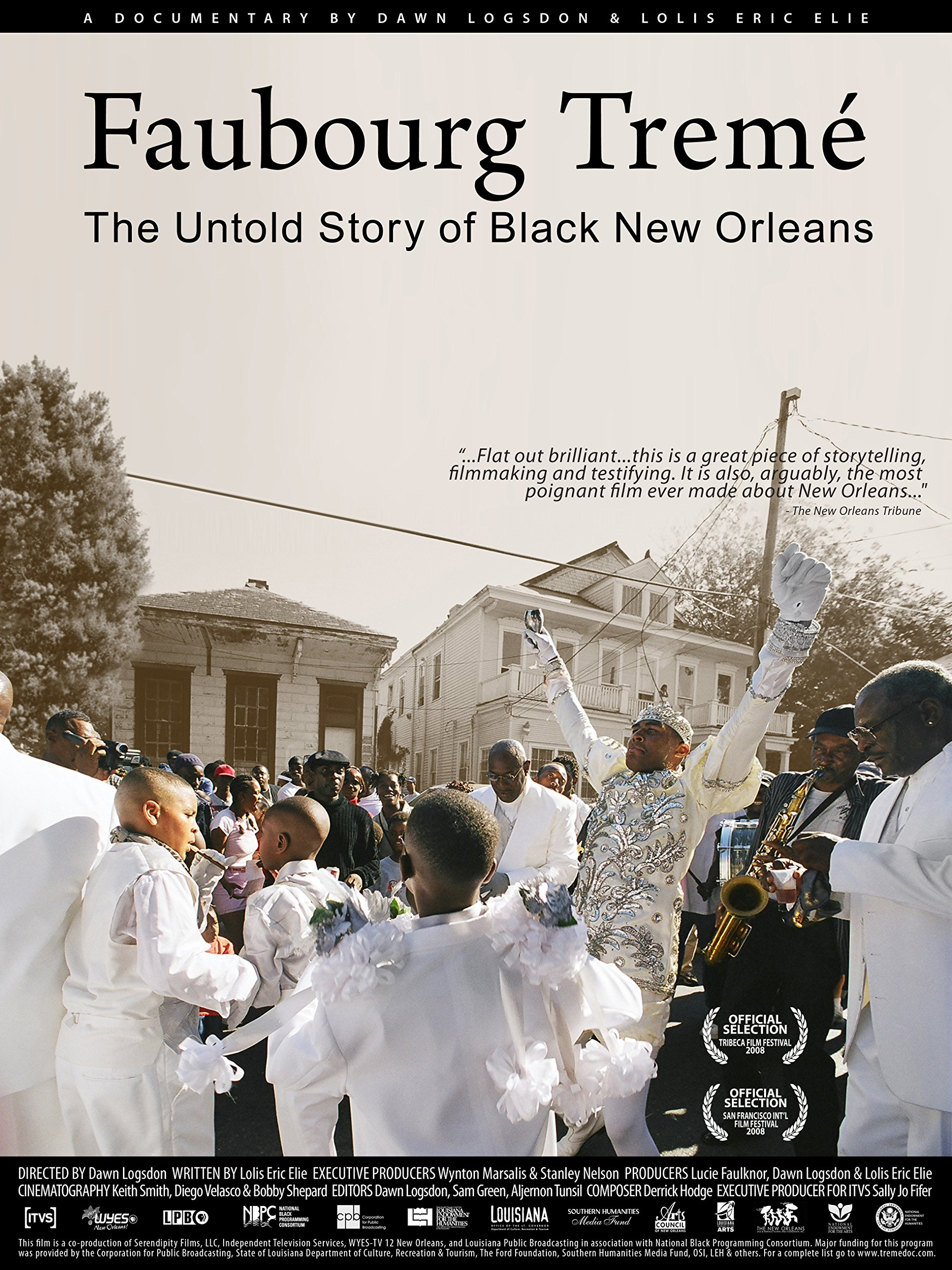 VIRTUAL SCREENING: Faubourg Tremé: The Untold Story of Black New Orleans