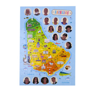 Barbados Map Jigsaw Puzzle