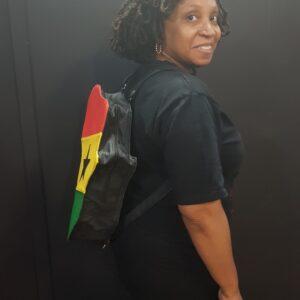 Ghana Flag African Map Backpack
