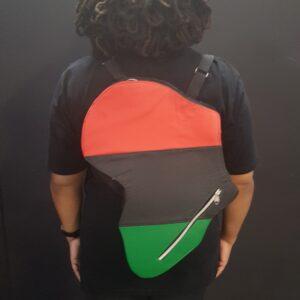 RGB African Map Bag