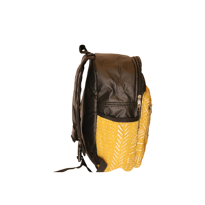 Bogolan Afrocentric Faux Leather Rucksack – Africa Map