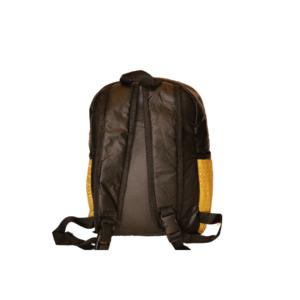 Bogolan Afrocentric Faux Leather Rucksack – Gye Nyame Medium